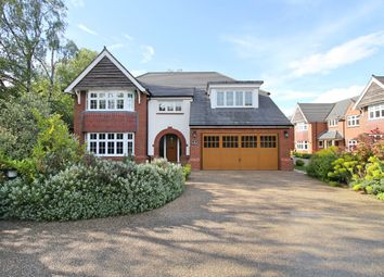 Thumbnail 5 bed detached house for sale in Waring Close, Glenfield, Leicester