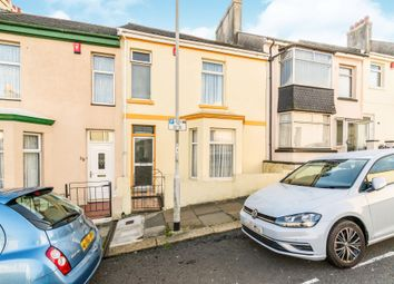Thumbnail 2 bed terraced house for sale in West Hill Road, Mutley, Plymouth