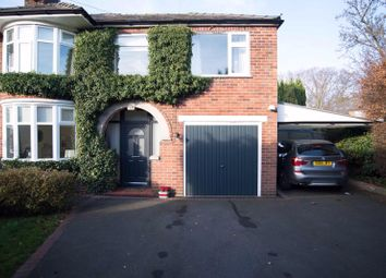Thumbnail 4 bedroom semi-detached house for sale in 7 Parker Avenue, Northwich, Cheshire