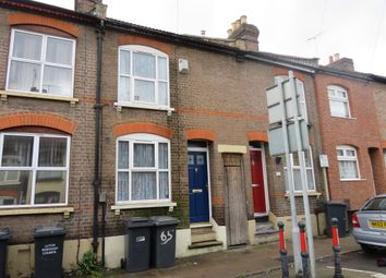 Thumbnail 2 bed terraced house for sale in Russell Street, Luton