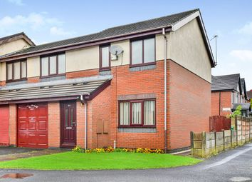 Thumbnail 3 bedroom semi-detached house for sale in Longford Place, Victoria Park, Levenshulme, Manchester