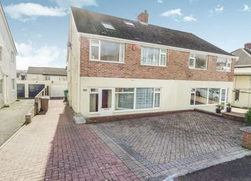 Thumbnail 5 bed semi-detached house for sale in Crossway, Plympton, Plymouth