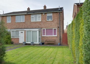 Thumbnail 3 bedroom semi-detached house for sale in Brooklands Road, Cannock