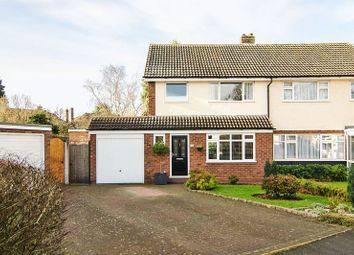 Thumbnail 3 bed semi-detached house for sale in St. Johns Close, Lichfield