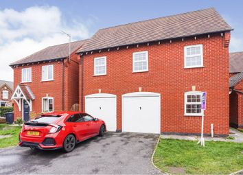 Thumbnail 2 bed detached house for sale in Essex Drive, Church Gresley, Swadlincote