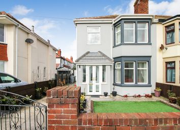 Thumbnail 3 bed semi-detached house for sale in Conway Avenue, Thornton-Cleveleys