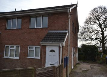 Thumbnail 2 bed flat to rent in Holly Drive, Stoke-On-Trent