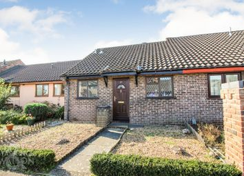 Thumbnail 2 bedroom terraced bungalow for sale in Nursery Close, Hellesdon, Norwich