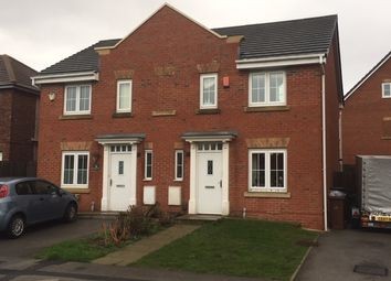 Thumbnail 3 bed semi-detached house to rent in St Helens Avenue, Monk Bretton, Barnsley