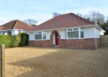 Thumbnail 4 bed detached bungalow for sale in Oakwood Avenue, New Milton