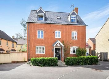 Thumbnail 5 bed detached house for sale in Winterbourne Road, Swindon