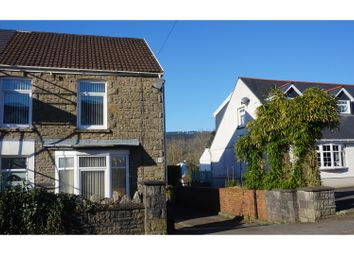 Thumbnail 3 bed semi-detached house for sale in Main Road, Bryncoch