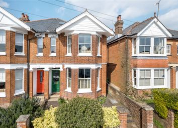 Thumbnail 4 bed semi-detached house for sale in Hatherley Road, Winchester, Hampshire