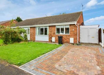 Thumbnail 2 bed semi-detached bungalow to rent in Dove Rise, Oadby, Leicester