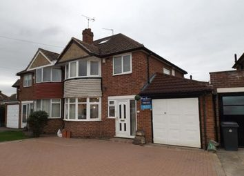 Thumbnail 3 bed semi-detached house for sale in Salisbury Drive, Water Orton, Birmingham, Warwickshire