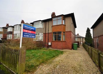 Thumbnail 2 bed semi-detached house for sale in Thornleigh Road, Crosland Moor, Huddersfield