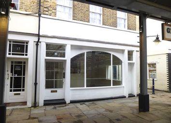 Thumbnail Retail premises to let in 16 Greenwich Market, Greenwich, London