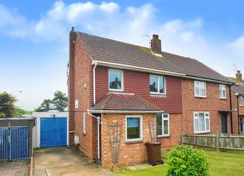Thumbnail 4 bed semi-detached house for sale in Rangemore Drive, Eastbourne