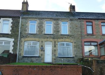 Thumbnail 2 bed terraced house to rent in Mill Road, Caerphilly