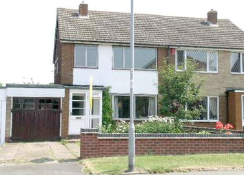 Thumbnail 3 bedroom semi-detached house to rent in Woodhouse Lane, Amington, Tamworth