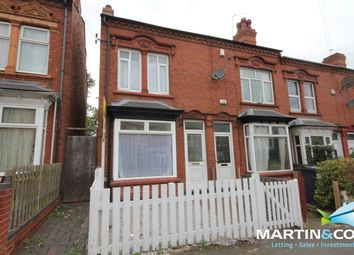 Thumbnail 2 bed end terrace house to rent in Selsey Road, Edgbaston