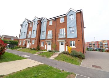 Thumbnail 3 bedroom town house for sale in Weavers Close, Eastbourne, East Sussex