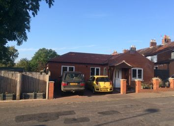 Thumbnail 2 bed detached bungalow for sale in Albany Road, Norwich