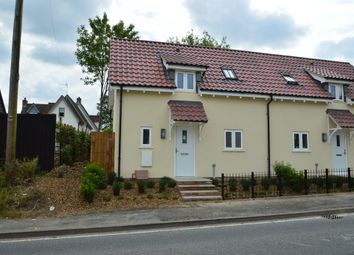 Thumbnail 2 bedroom end terrace house for sale in The Street, Sturmer, Haverhill