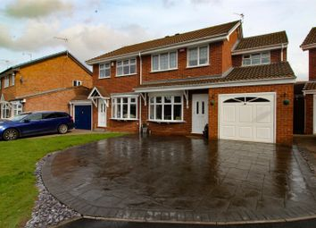 Thumbnail 4 bed detached house for sale in Appledore Drive, Allesley Green, Coventry