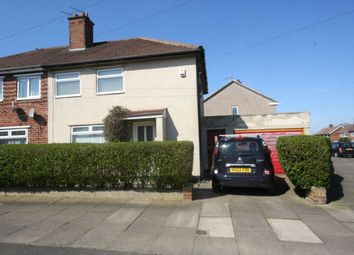 Thumbnail 2 bed semi-detached house to rent in Evesham Road, Middlesbrough
