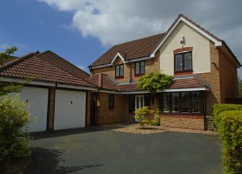 Thumbnail 4 bed detached house for sale in Lambourne Way, Norton Canes, Cannock