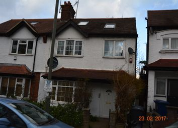 Thumbnail 3 bed terraced house to rent in Hilview Gardens, Hendon, London