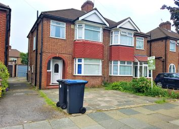 Thumbnail 4 bed semi-detached house to rent in Amberley Road, Enfield