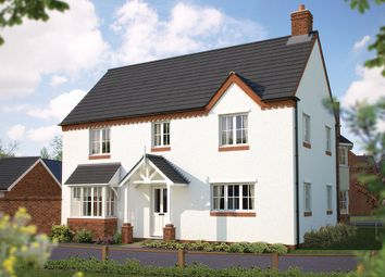 "Thumbnail 4 bed detached house for sale in ""The Montpellier"" at Bowbrook, Shrewsbury"