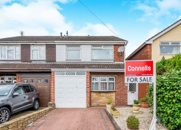 Thumbnail 3 bed semi-detached house for sale in Wrekin View, Huntington, Cannock