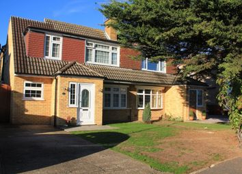 Thumbnail 4 bed semi-detached house for sale in Seacourt Road, Langley, Slough
