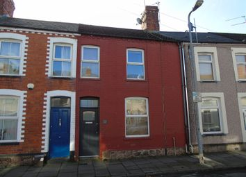 Thumbnail 2 bed terraced house for sale in Glynne Street, Canton, Cardiff