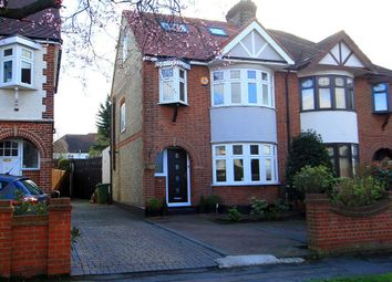 Thumbnail 4 bedroom semi-detached house for sale in Summit Drive, Woodford Green, London