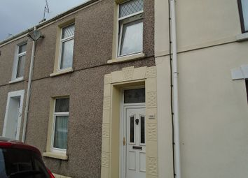 Thumbnail 2 bed terraced house for sale in Pemberton Street, Llanelli, Carmarthenshire.