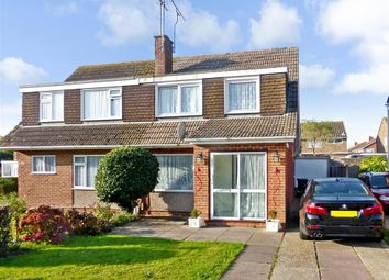 Thumbnail 3 bed semi-detached house for sale in Boxgrove, Goring-By-Sea, Worthing, West Sussex