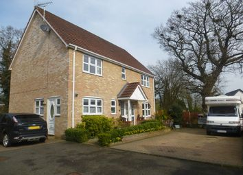 Thumbnail 4 bedroom detached house for sale in Bluebell Close, Watton, Thetford