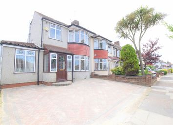 Thumbnail 4 bed semi-detached house to rent in Strafford Avenue, Ilford