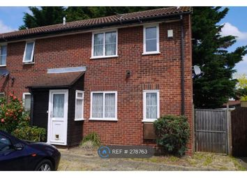 Thumbnail 1 bed end terrace house to rent in Carisbrooke Court, Slough