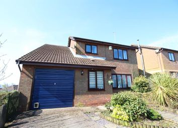 Thumbnail 4 bed detached house for sale in Coed Gethin, Caerphilly