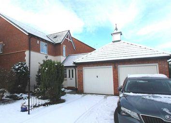 Thumbnail 4 bed detached house for sale in Goldthorpe Close, Northburn Manor, Cramlington