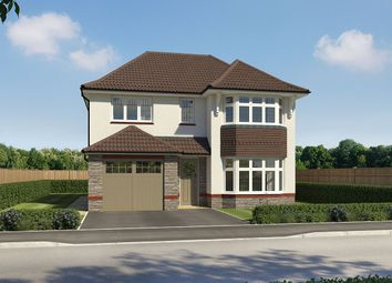 "Thumbnail 4 bed detached house for sale in ""Oxford"" at Walters Field, Roundswell, Barnstaple"