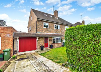 Thumbnail 5 bedroom semi-detached house for sale in Hall Place Crescent, Bexley, Kent