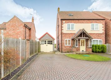 Thumbnail 4 bedroom detached house for sale in Park Lane, Barlow