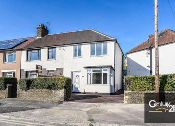Thumbnail 3 bed end terrace house for sale in Lawrence Avenue, London