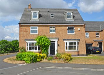 Thumbnail 6 bed detached house for sale in Langlands Place, Coton Park, Rugby